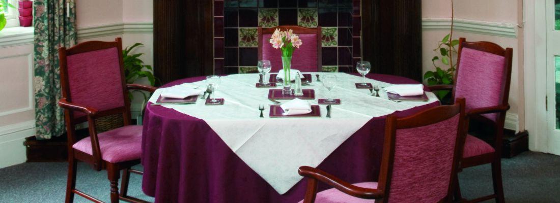 Kestrel Grove dining room