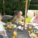 july lunch at kestrel grove